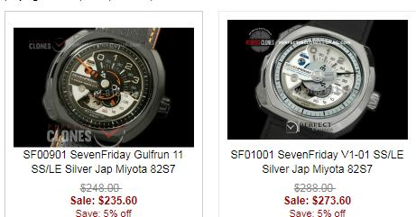 replica sevenfriday watches